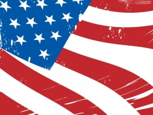 American flag Stuart Miles