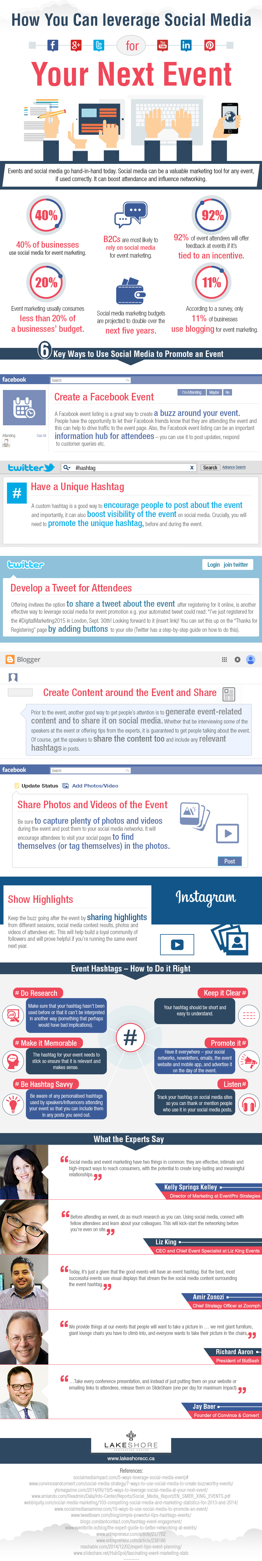 Maximize Your ROI from Your Next Event with Social Media